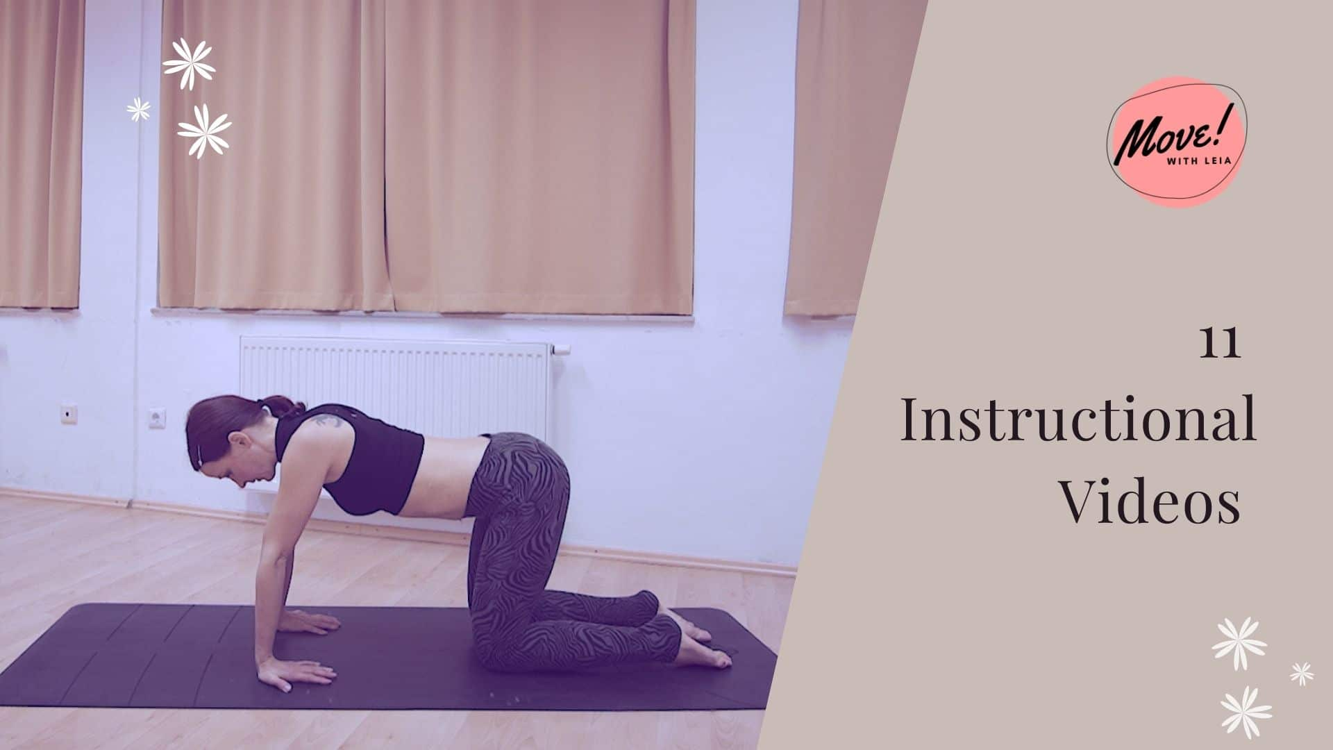 Instuctional videos, Move with Leia, The Core Vibe